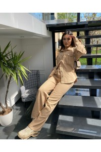 Two Piece Set Brown