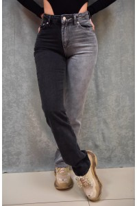 Jeans With Two Color